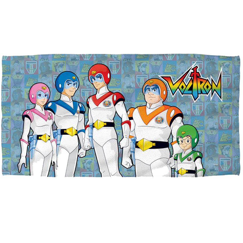 Voltron Team Fleece Blanket