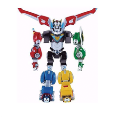 Voltron Legendary Defender Set of 5 Die Cast Lions IN STOCK