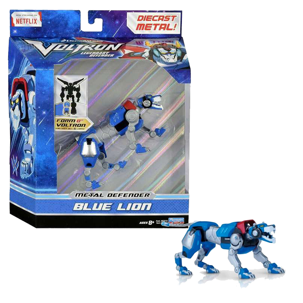 Voltron The Legendary Defender BLUE Lion Die-Cast Figure