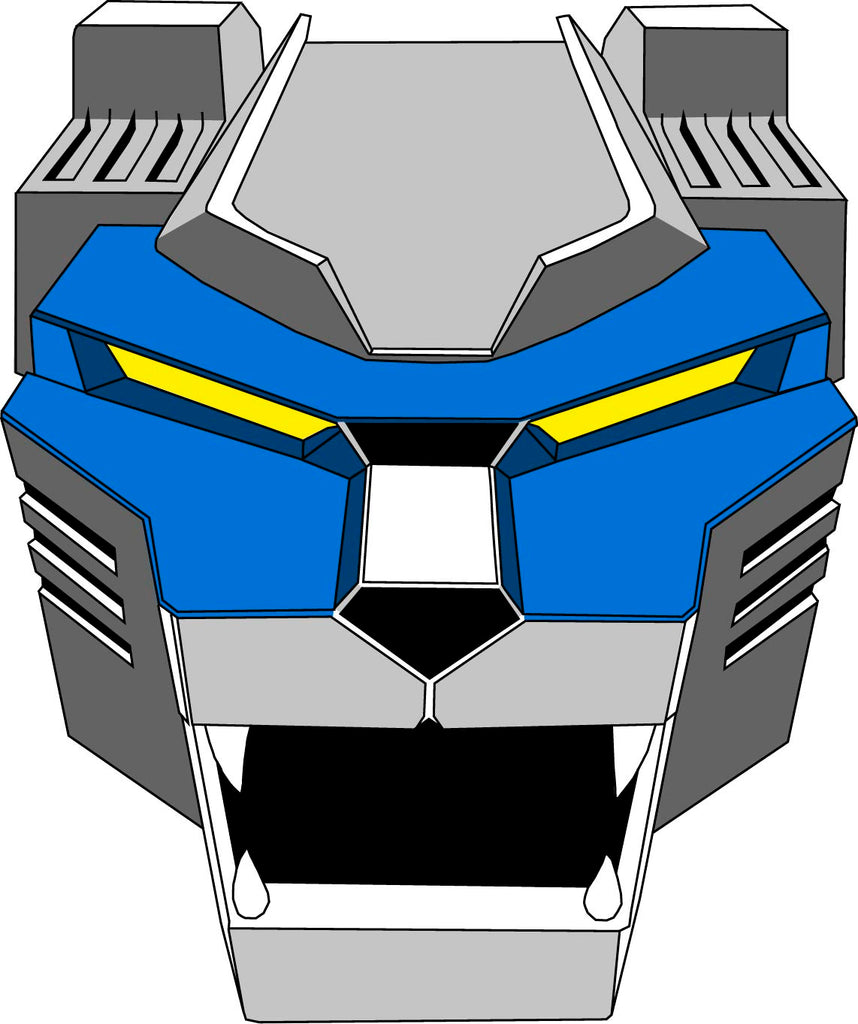 Blue Lion Decal
