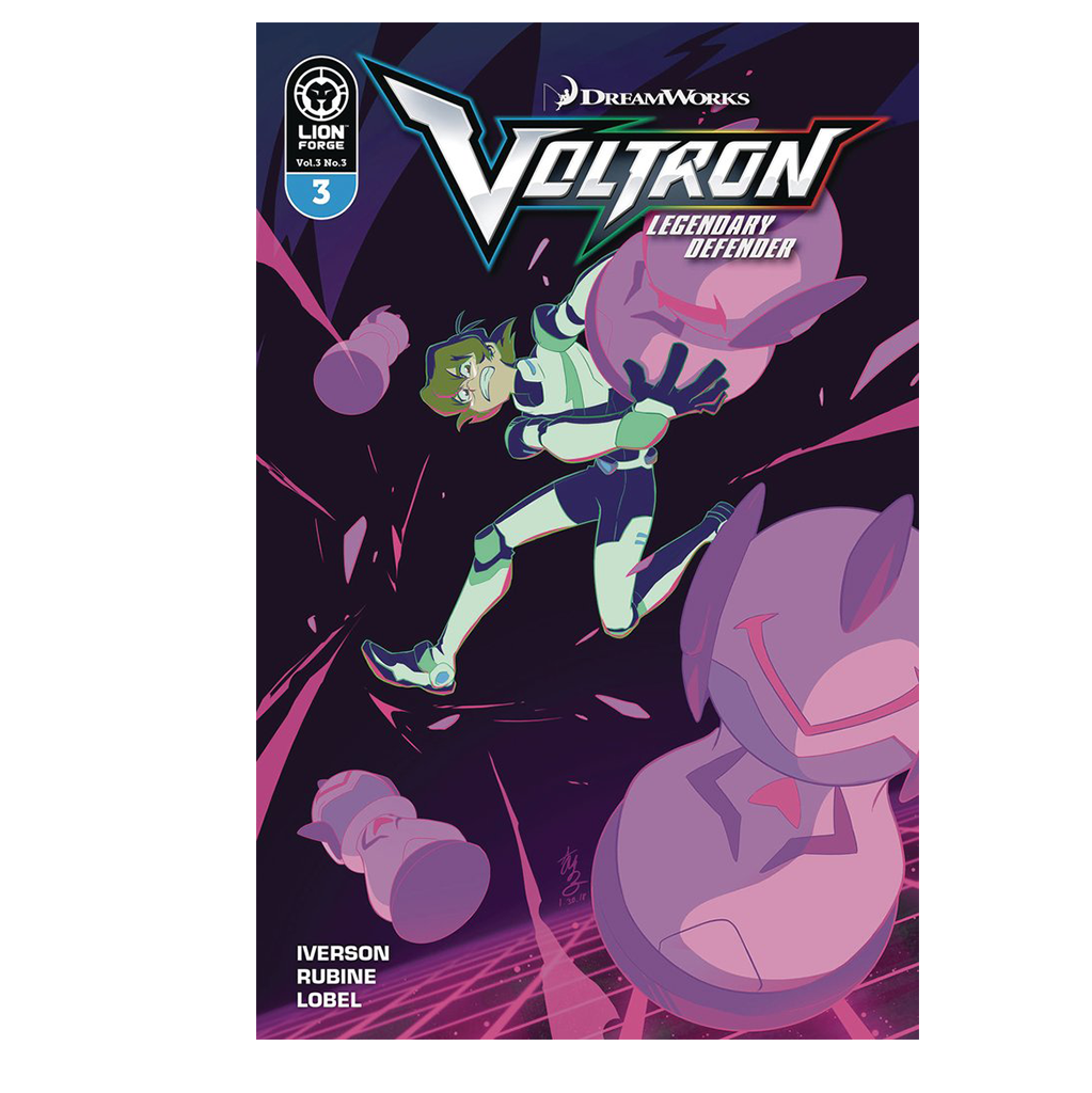 Voltron Legendary Defender Volume 3 Issue #3 Regular Cover Now Shipping