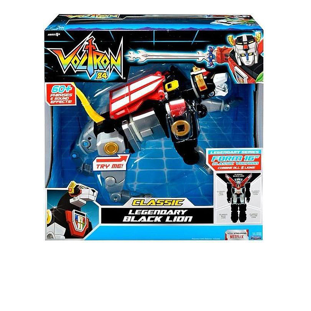 Voltron Classic Black Lion by Playmates  Limited Supply