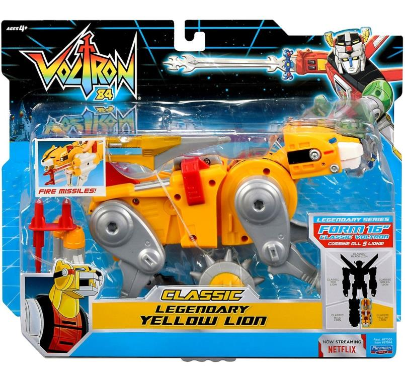 Voltron Classic Yellow Lion Limited Supply