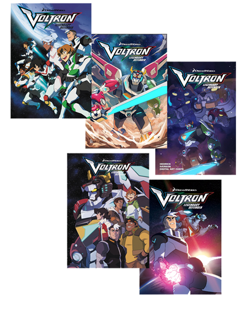 Voltron Legendary Defender Issues #1-5 Now Shipping