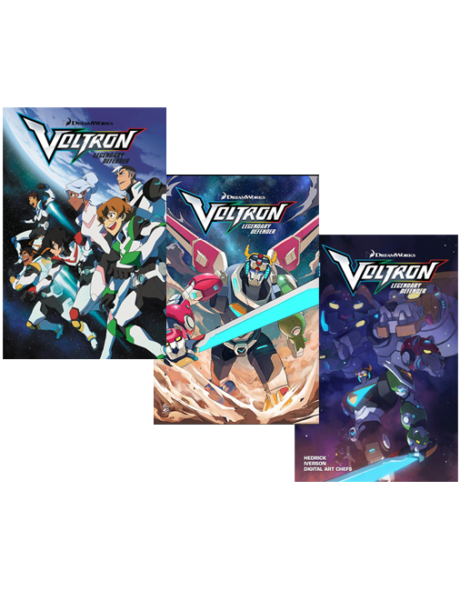 Voltron Legendary Defender Issues #1-3 Now Shipping