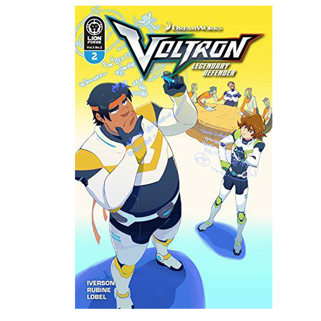 Voltron Legendary Defender Volume 3 Issue #2 Regular Cover Now Shipping
