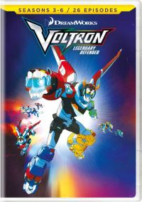 Voltron Legendary Defender DVD Seasons 3-6