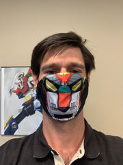Voltron Black Lion Face Mask BRAND NEW