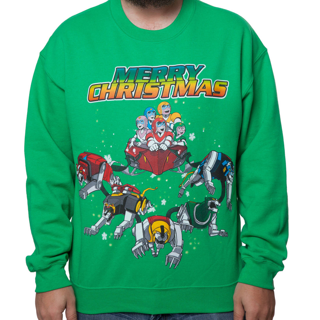 Voltron Ugly Christmas Sweatshirt
