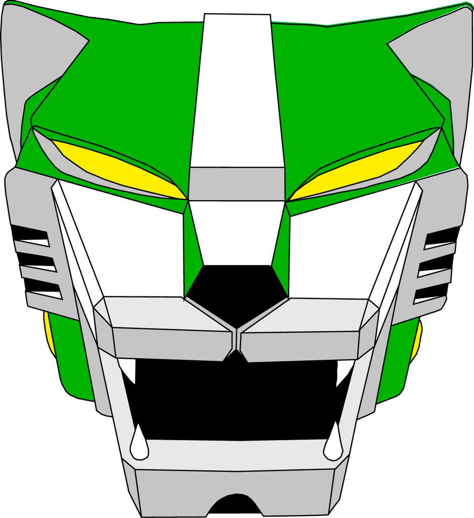 Green Lion Decal