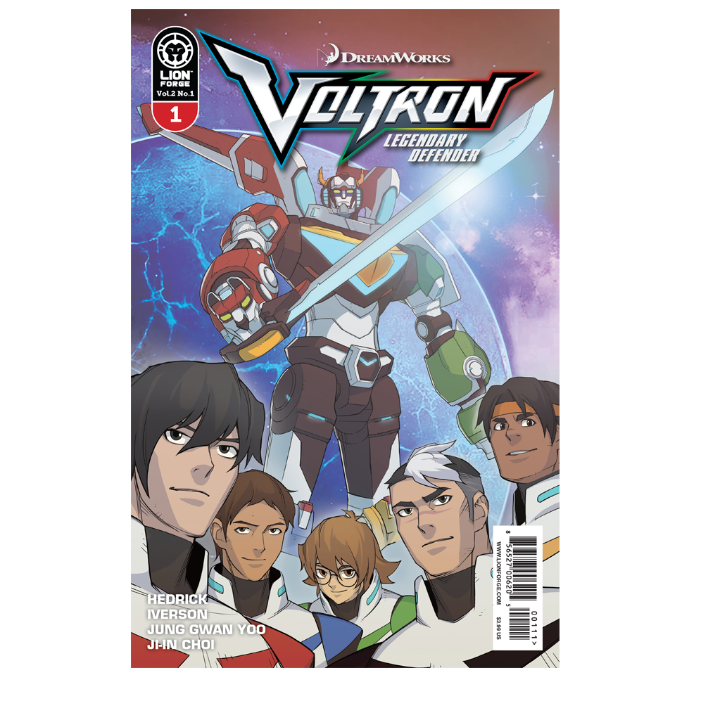 Voltron Legendary Defender Vol .2 #1 PRE-ORDER NOW, SHIPS 10/4