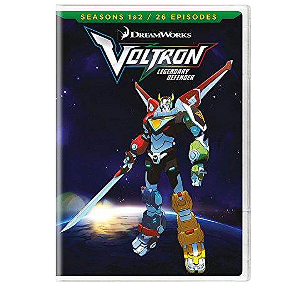 Voltron Legendary Defender DVD Seasons 1 & 2