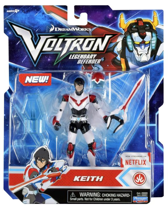 Voltron Legendary Defender Pilot Keith