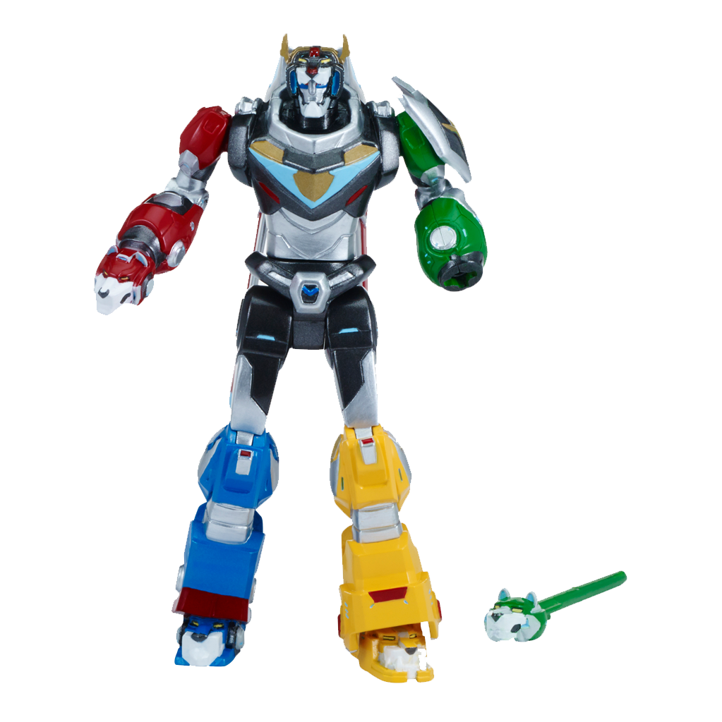 Playmates Voltron Legendary Defender 5.5 inch Action Figure - Lion Attack