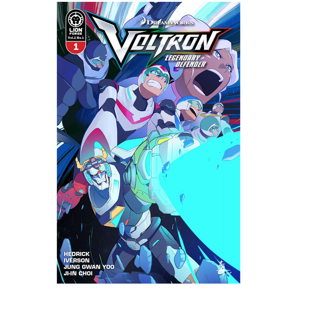 Voltron Legendary Defender Volume 2: Pilgrimage Trade Paperback