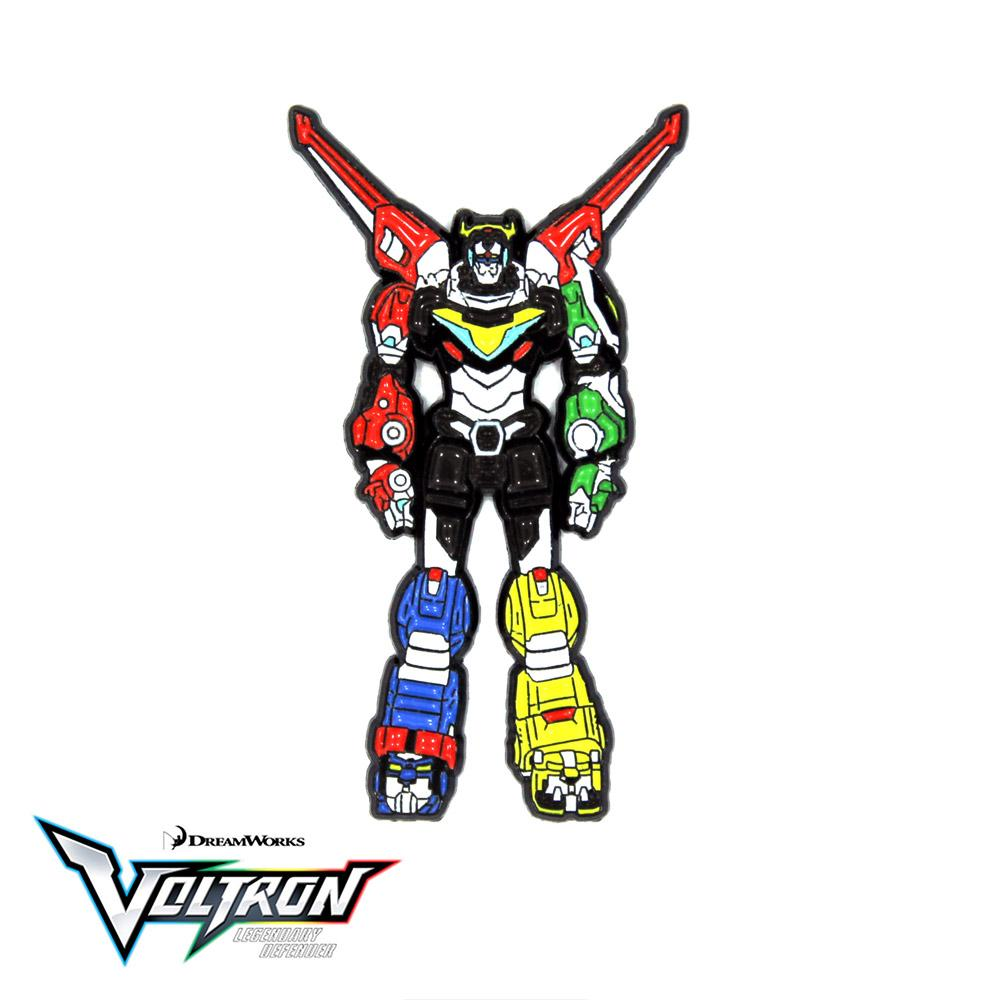 Voltron Legendary Defender NYCC 2018 Collectible Enamel Pin