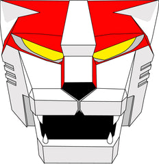 Voltron Red Lion Face Mask BRAND NEW