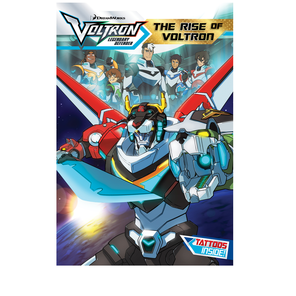 The Rise of Voltron Chapter Book NOW SHIPPING