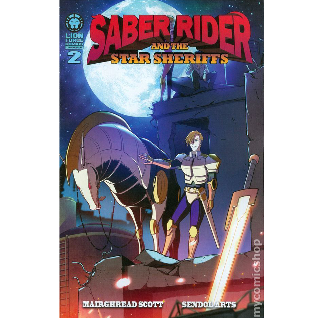 Saber Rider Comic Issue #2 Now Shipping