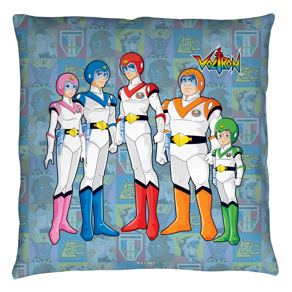 Voltron Team throw pillow NEW