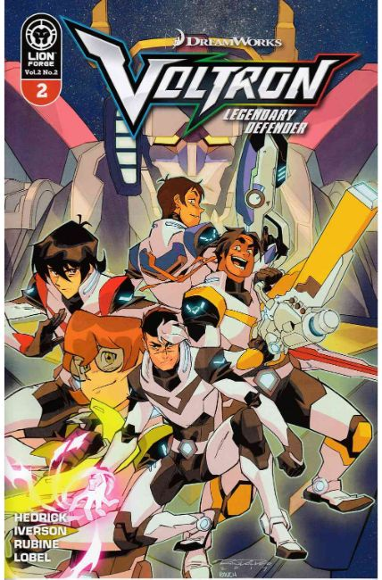 Voltron Legendary Defender Volume 2 Issue #2 Variant Cover Brand New