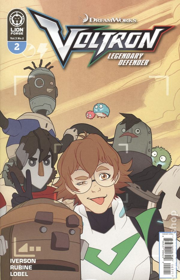 Voltron Legendary Defender Volume 3 Issue #2 Variant Cover Now Shipping