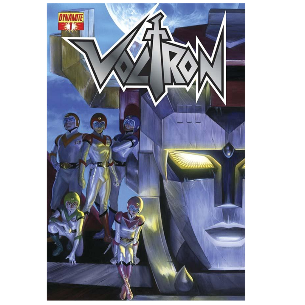 "VOLTRON #01 COMIC EXCLUSIVE ""VIRGIN"""