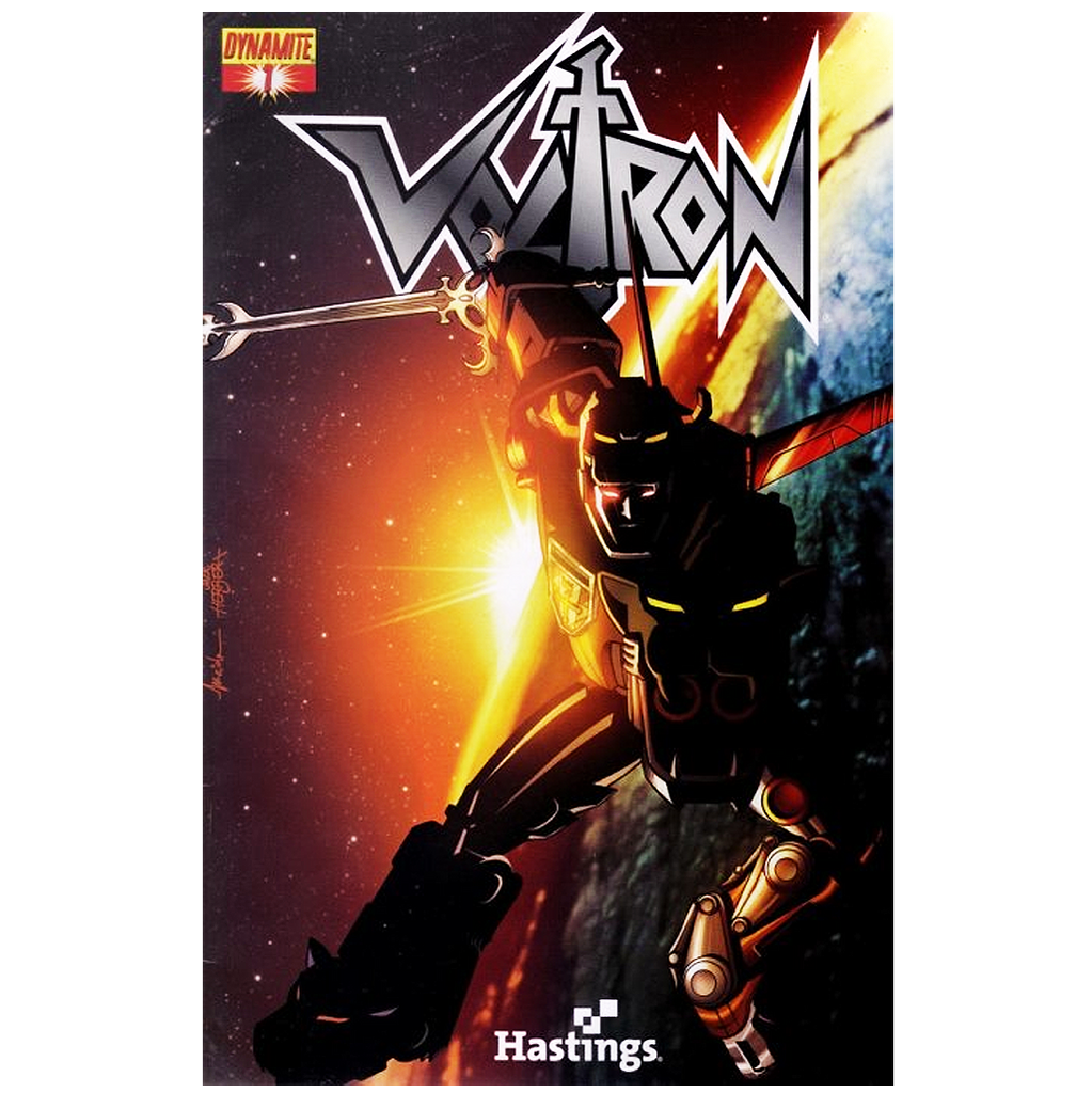 Voltron #01 Dynamite Hastings Exclusive Variant Edition