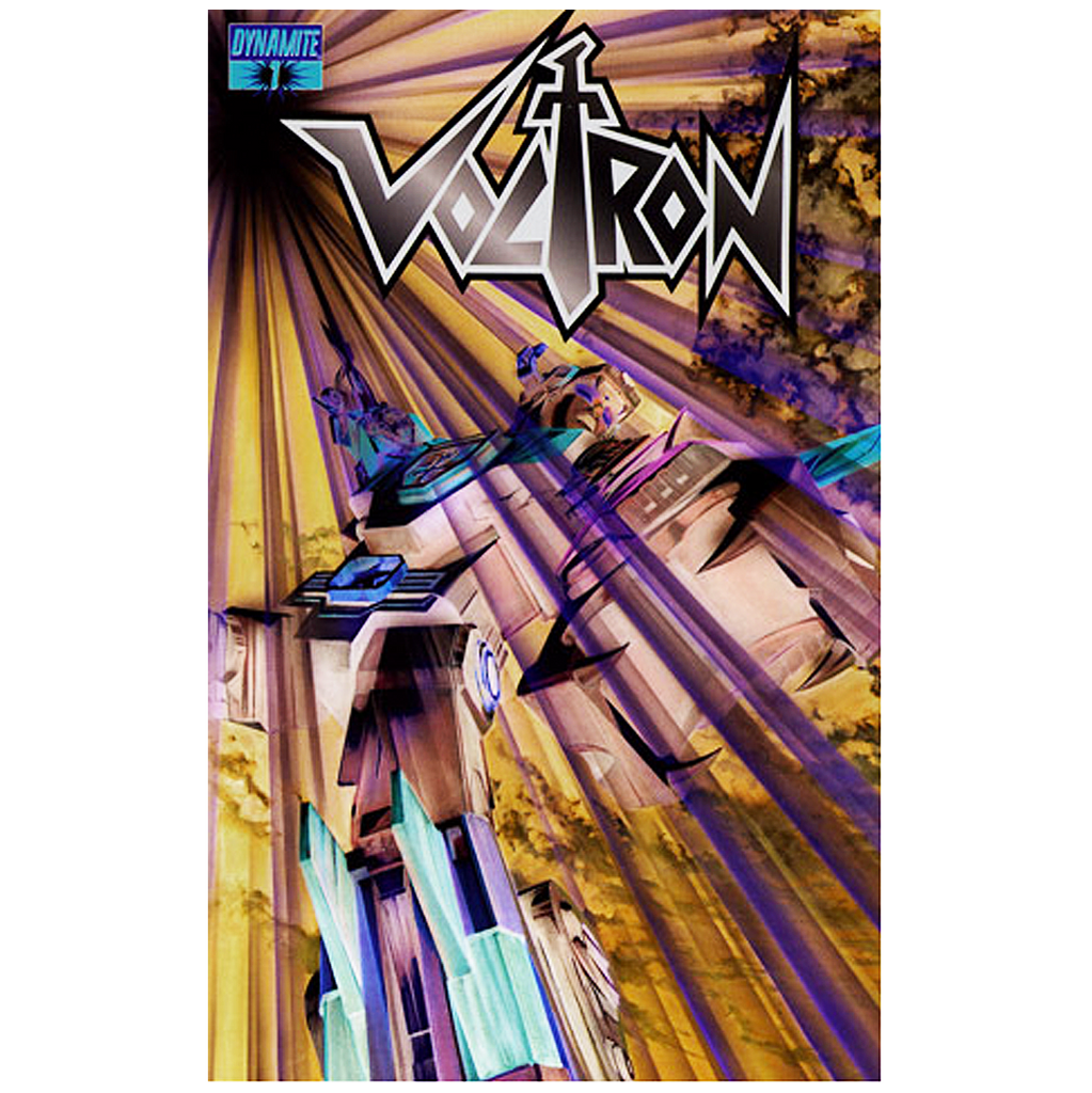 "VOLTRON #01 - (1:35) ""NEGATIVE EFFECT ART"" COMIC"