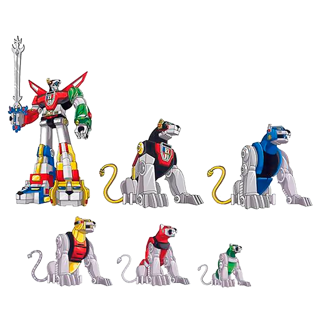 Voltron Family Car Decal