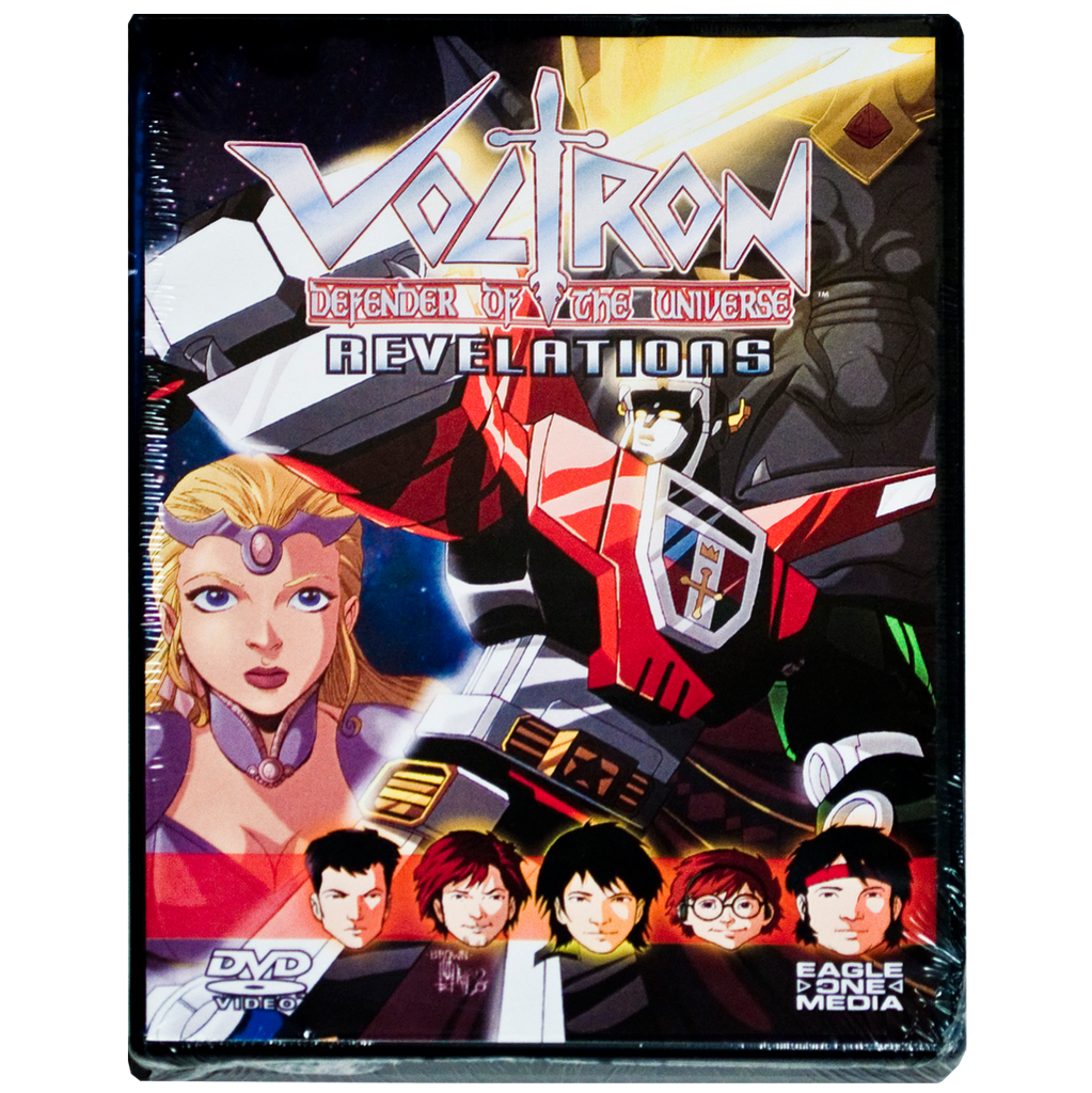 Voltron  Revelations A Digital Comic Book DVD