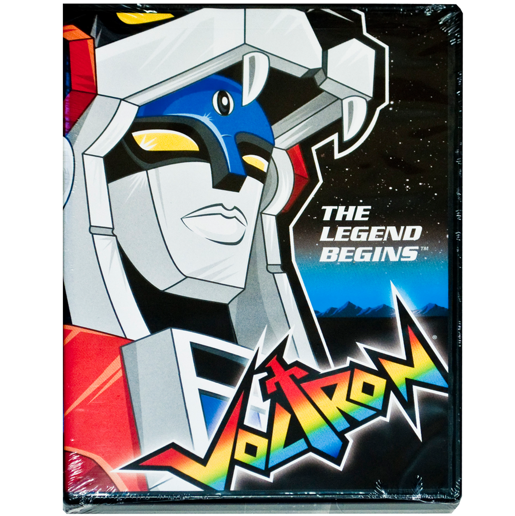 Voltron: The Legend Begins DVD BACK IN STOCK