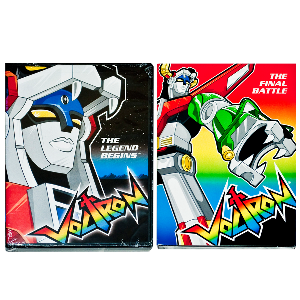 Voltron DVD Combo Pack
