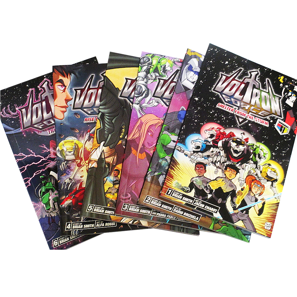 Voltron Force Comics Volumes 1-6 FULL SET by Viz Media and Viz Kids