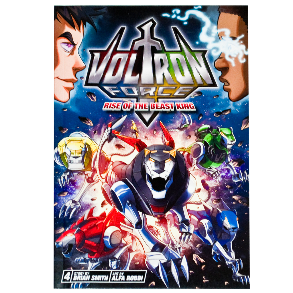 "Voltron Force Vol. 04 ""Rise of the Beast King"" comic"