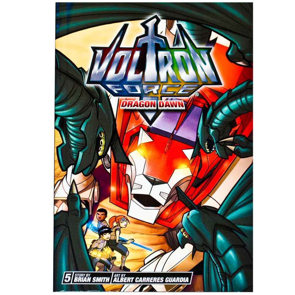 "Voltron Force Vol. 05 ""Dragon Dawn"" comic"