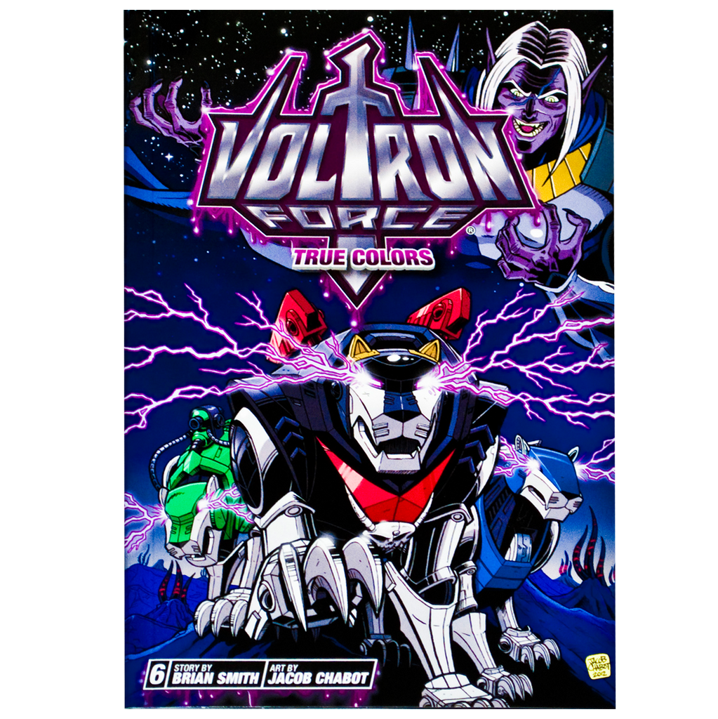 "Voltron Force Vol. 06 ""True Colors"" comic"