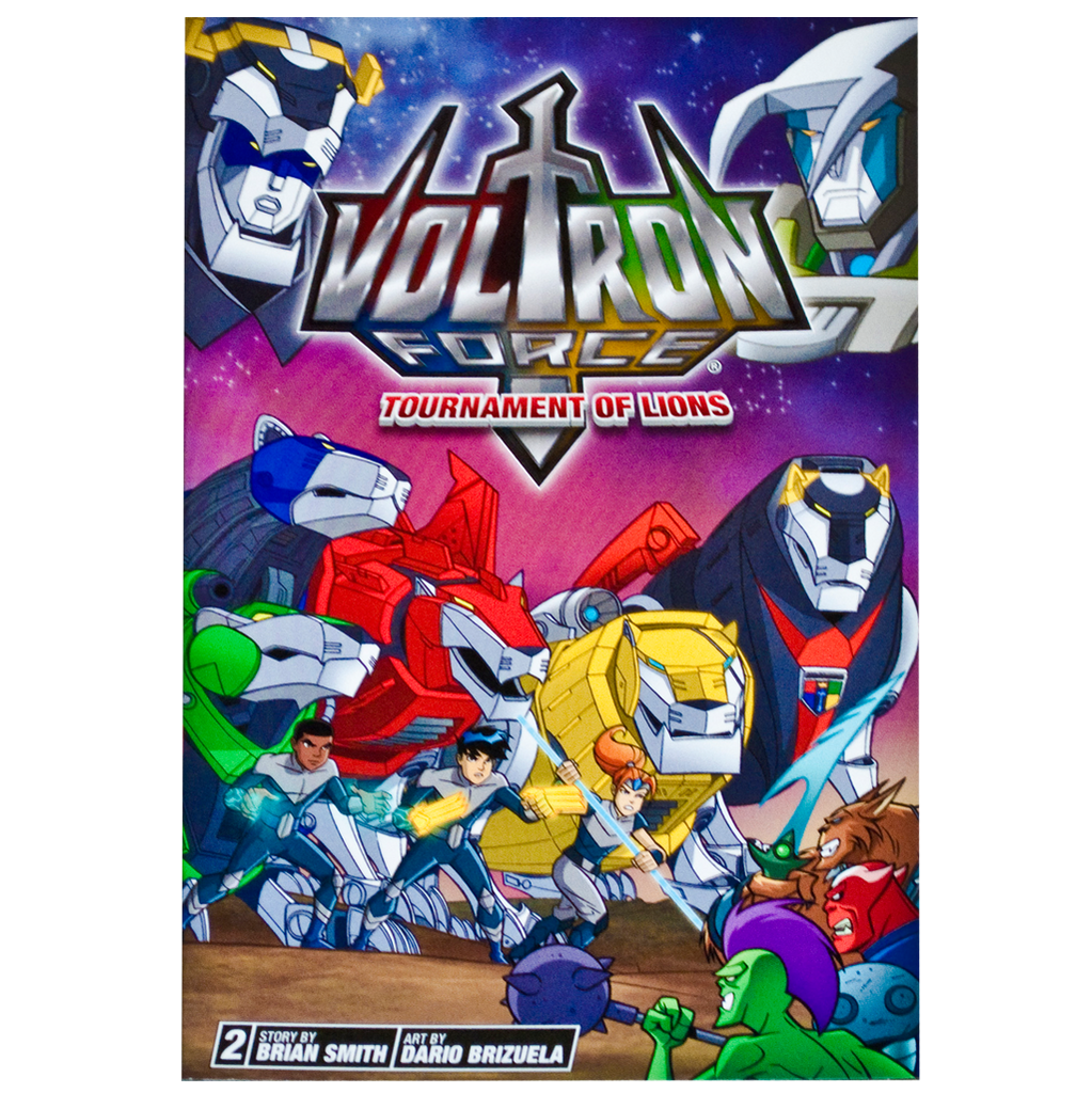 Voltron Force Vol. 02: Tournament of Lions comic