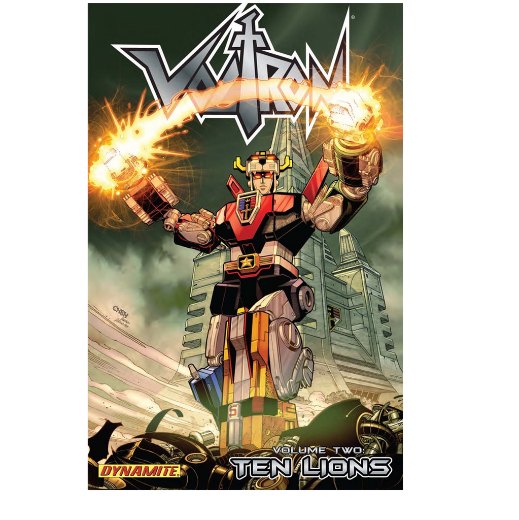 VOLTRON VOL. 2: THE TEN LIONS TRADE PAPERBACK COMIC