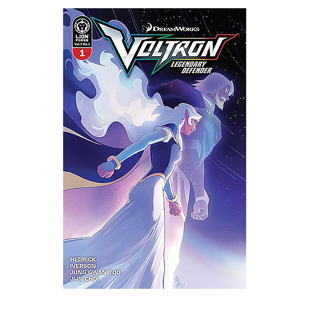 Voltron Legendary Defender Volume 3 Issue #1 Regular Cover Now Shipping