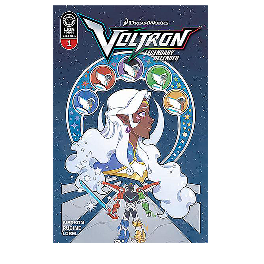Voltron Legendary Defender Volume 3 Issue #1 Variant Cover Now shipping