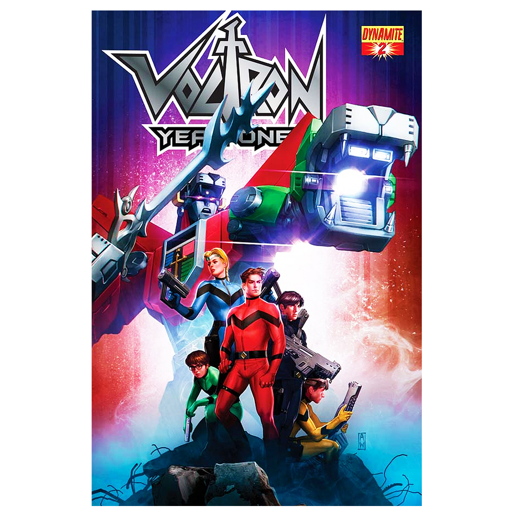 Voltron Year One #2 comic