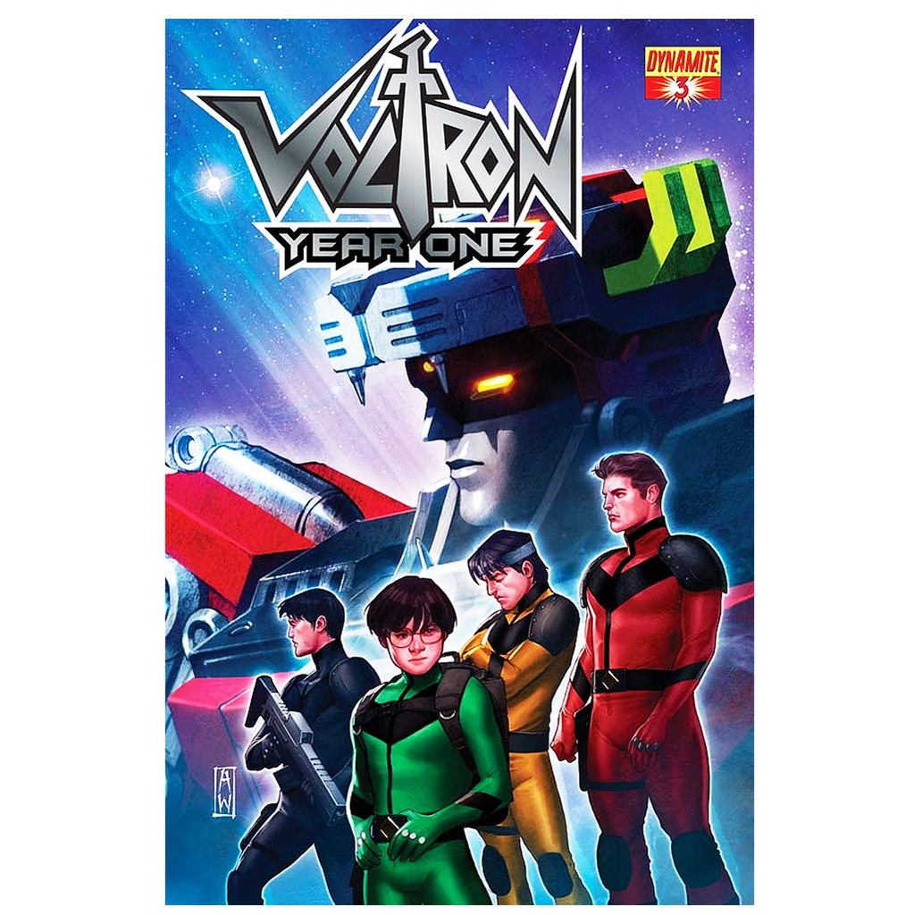 Voltron Year One #3 comic