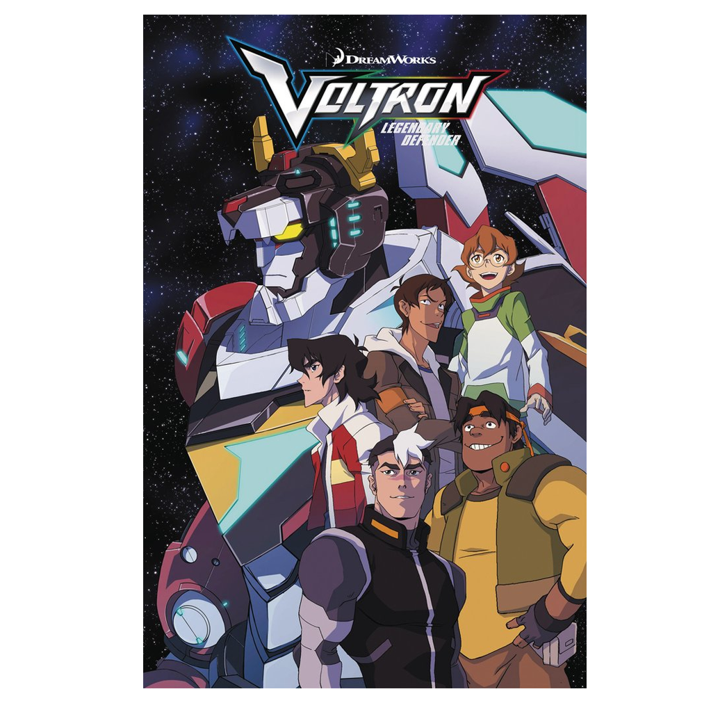 Voltron Legendary Defender Issue #4 Now Shipping