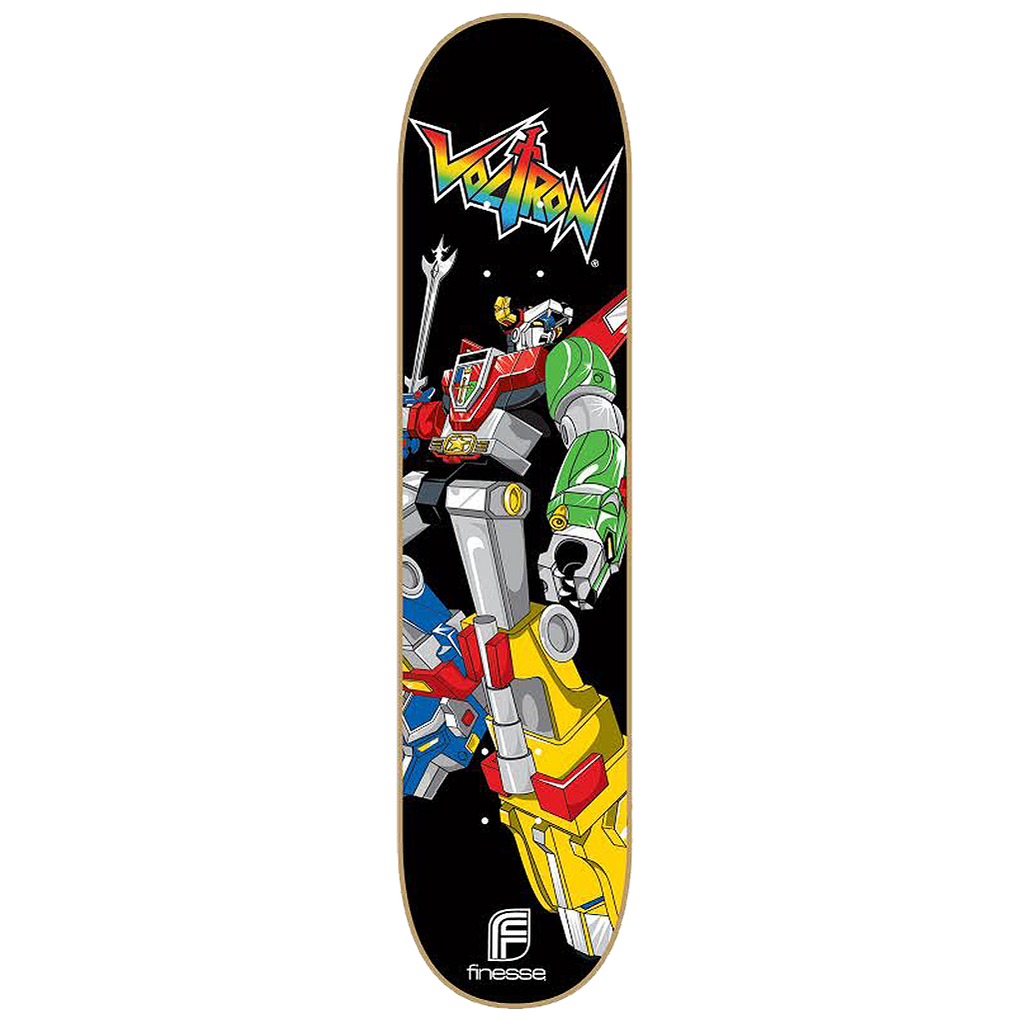 Voltron 30th Skateboard Classic model