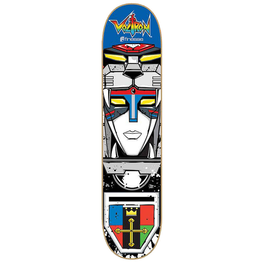 Voltron 30th Skateboard Head model