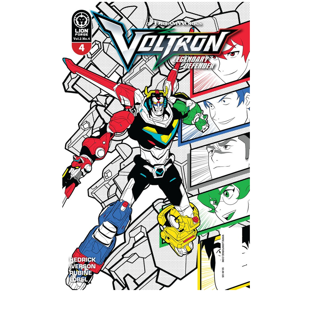 Voltron Legendary Defender Volume 2 Issue #4 NOW SHIPPING