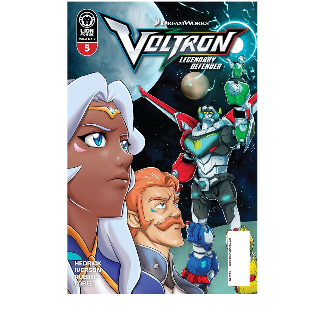 Voltron Legendary Defender Volume 2 Issue #5 PRE-ORDER NOW, SHIPS 11/29