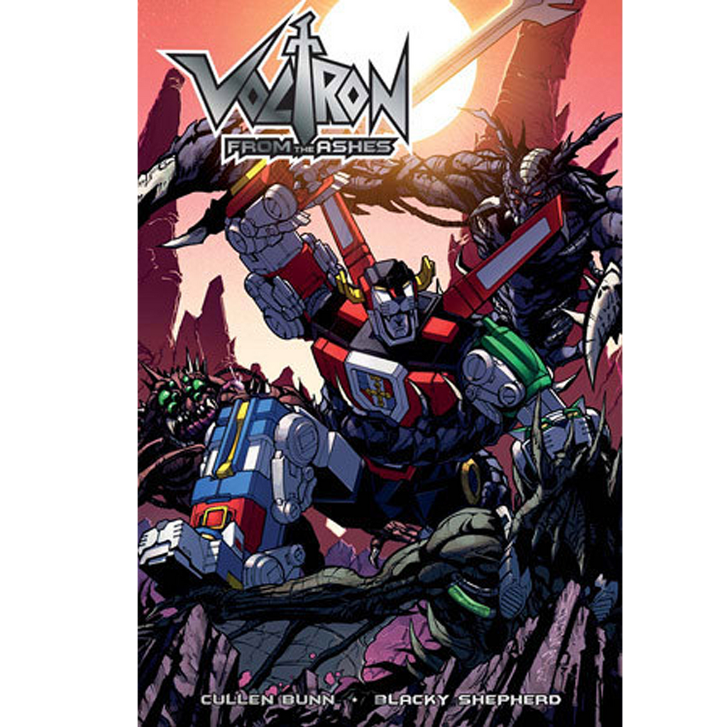 Voltron: From the Ashes Trade Paperback Now Shipping