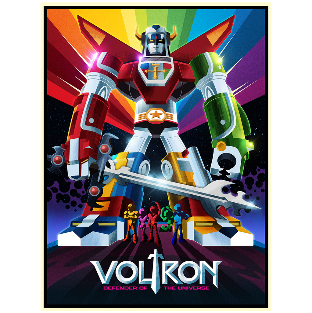 A Voltron Print by James White